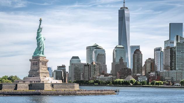Landmarks of New York City, USA (Photo via spyarm / iStock / Getty Images Plus)