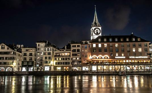 Zurich, Switzerland (Photo by Kamil Porembinski.)