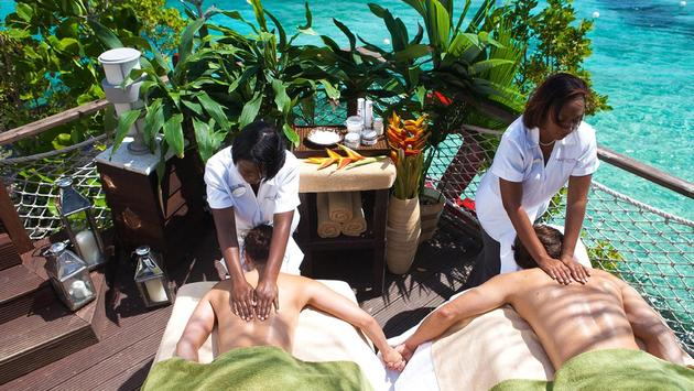Receive 30 Min Couples Massage at Sandals Ochi