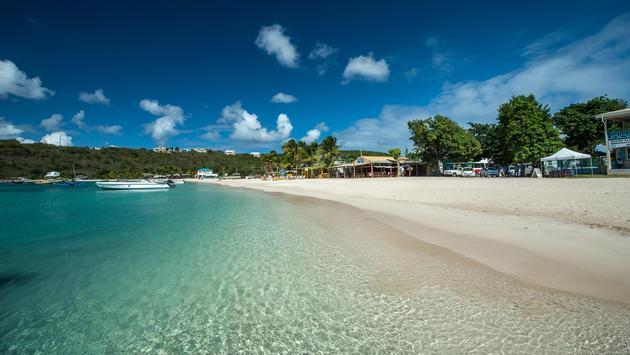 Sandy Ground Bay, Anguilla, English West Indies