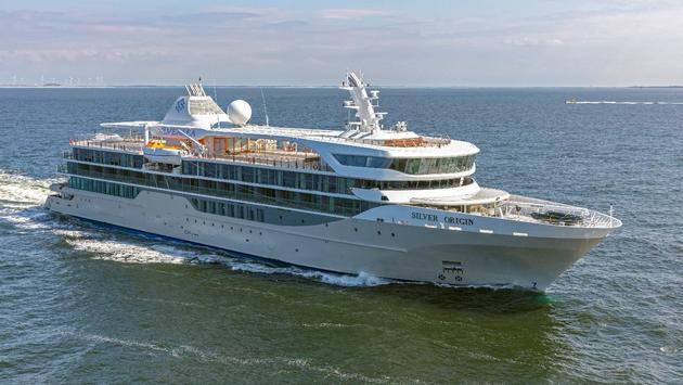 Silver Origin during sea trials April 27-29