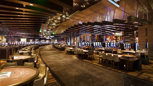 Gaming floor at ARIA Resort & Casino Las Vegas