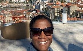 Travel writer Heather Greenwood Davis in Portugal