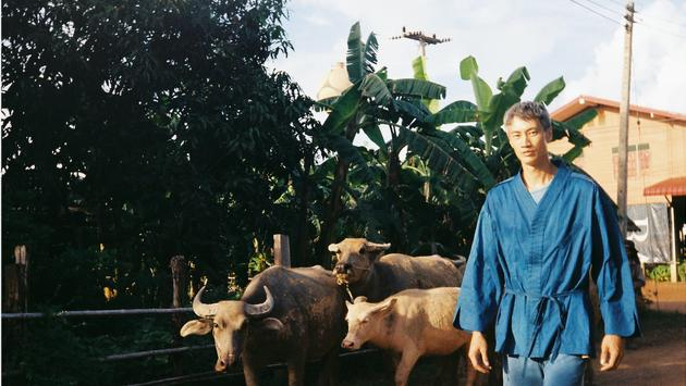 Philip Huang, a sustainable clothing designer, will be in residency at the Rosewood Phuket
