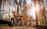RV road trip, camping