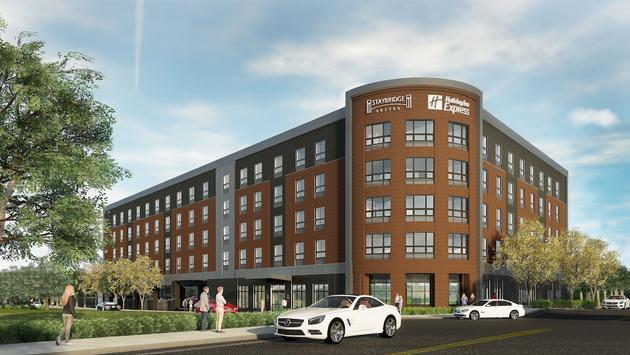 Dual-branded Staybridge Suites and Holiday Inn Express