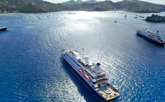 Twin Mega Yachts SeaDream I and SeaDeam II