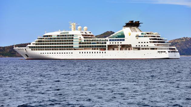 Luxury cruise ship Seabourn Odyssey