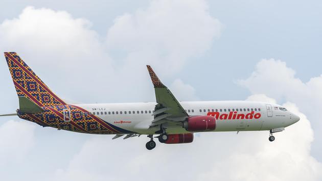 Malindo Air, Boeing 737, plane