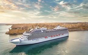 Oceania Cruises' Riviera cruise ship in Malta.