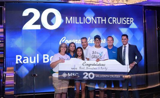 MSC Cruises 20 Millionth Passenger