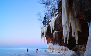 Apostle Islands, Winter, Wisconsin