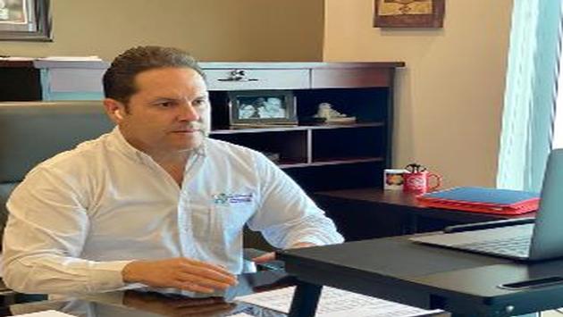 Luis Humberto Araiza López, secretario de Turismo, Economía y Sustentabilidad (SETUES)