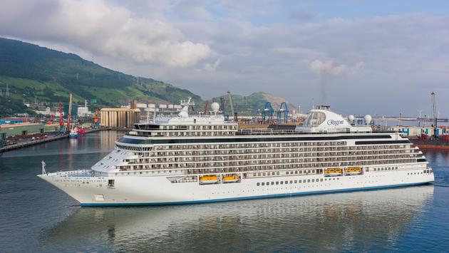 Regent Seven Seas Cruises' Seven Seas Explorer in Bilbao, Spain