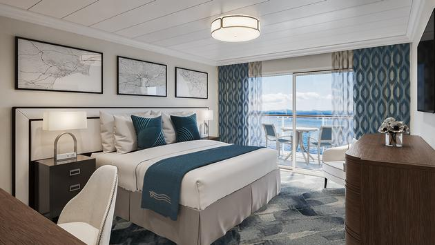 stateroom on ACL modern riverboat