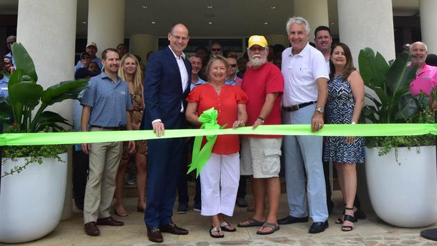 Margaritaville Vacation Club by Wyndham ribbon-cutting