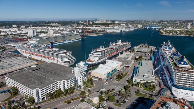 Port Everglades' Cruise Midport Area