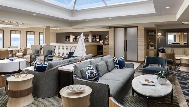 modern riverboat aft lounge