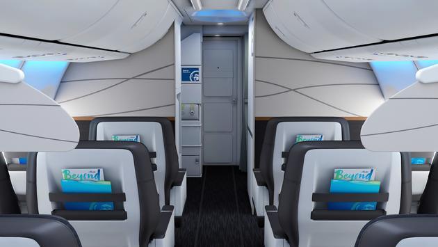 Alaska Airlines 2018 cabin redesign