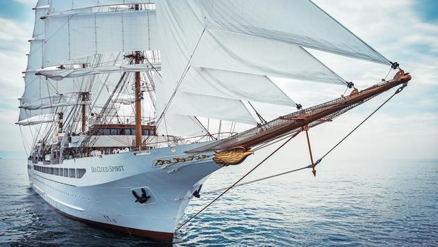 Sea Cloud Spirit will operate its maiden voyage in September 2021.