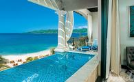 Italian Oceanview PH. 1 Br. SkyPool Butler Suite w/Balcony Tranquility Soaking Tub
