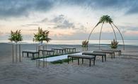 Wedding set up at Le Blanc Spa Resort Cancun