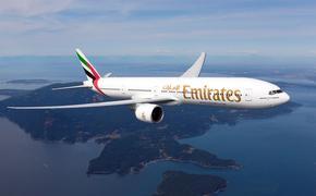 Aeronave de Emirates hacia la Ciudad de México. (Foto de Emirates)