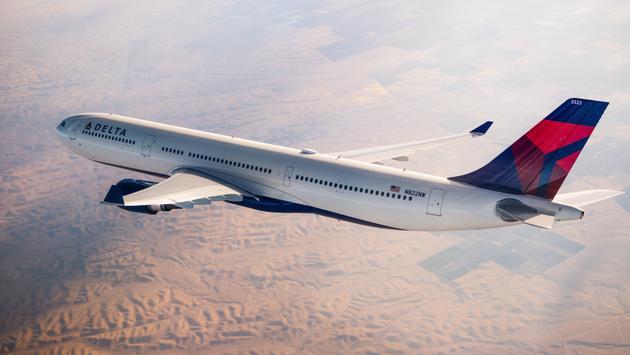 Delta Air Lines' plane.
