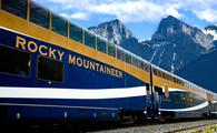 luxury train tours through Rocky Mountains in Canada