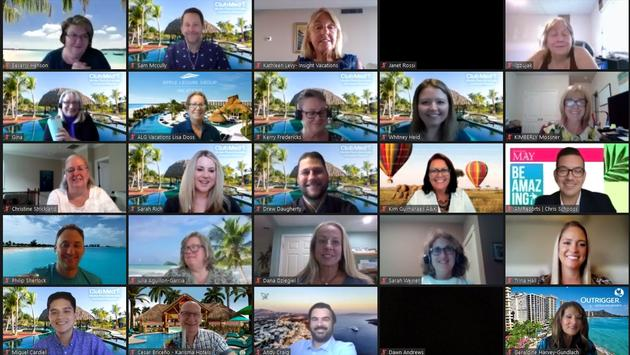 Avoya Travel's virtual Mastermind event.