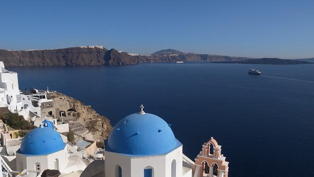 The Greek Isle of Santorini