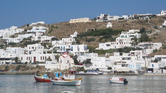 Mykonos, en Grèce