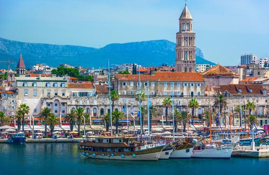 Old city center Split