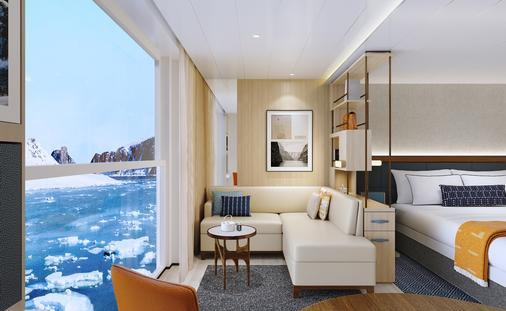 Viking Expedition Ship Nordic Balcony in Junior Suite