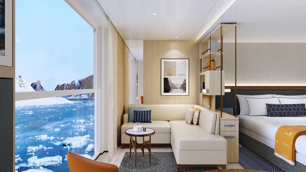 Viking Expedition Ship Nordic Balcony dans Junior Suite