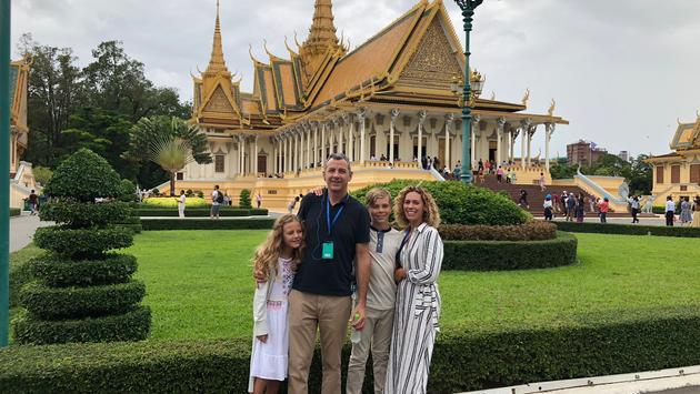 John Mast and family