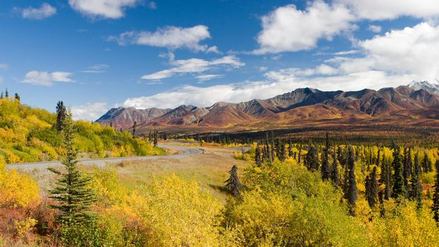 Alaska's Glenn Highway