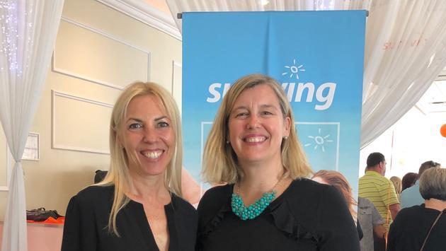 Lyne Chayer et Marie-Josée Carrière au lancement 2019-2020