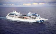 Pacific Princess at sea.