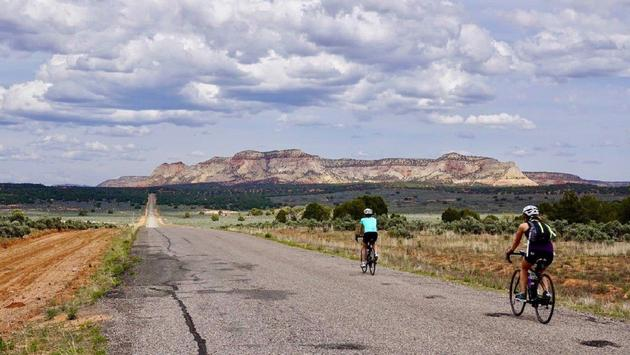 A biking tour with Trek Travel