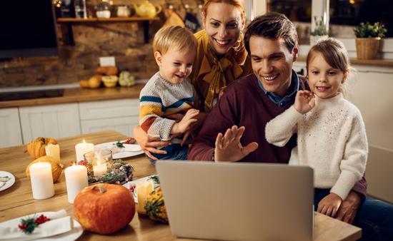 Virtual Thanksgiving.