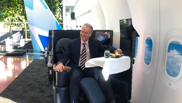 WestJet President and CEO Ed Sims in Toronto