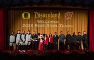 2020 Rose Bowl Teams Stay at Disneyland Resort