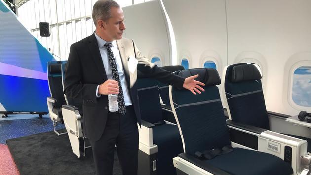 Tim Croyle, WestJet Executive Vice President, Commercial