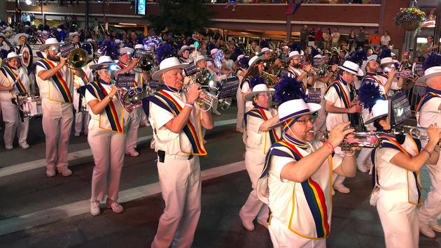 Rhode Island PrideFest band