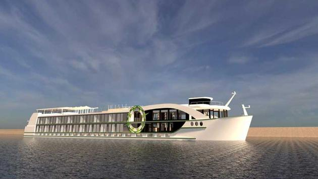 Rendering of the MS Andorinha