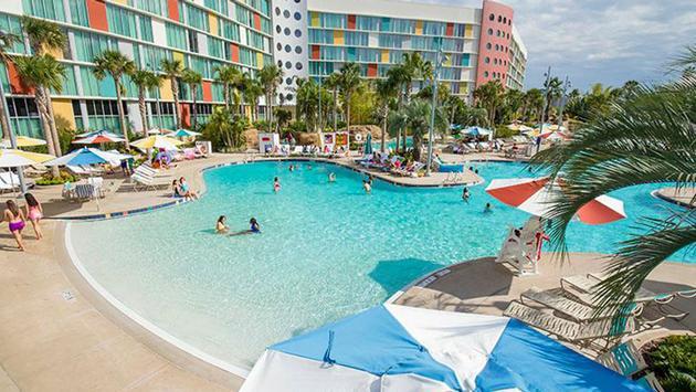 View of Cabana Bay Beach Resort