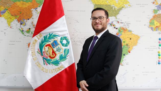 Edgar Vasquez Vela, Peru's Minister of Tourism and Foreign Trade