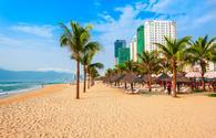 My Khe city beach, Da Nang, Vietnam
