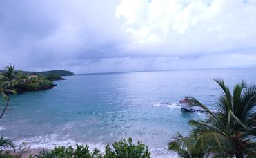 A view from the Luxury Bahia Principe Samana